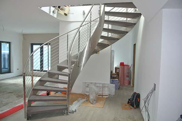 Bespoke Staircase Helical 2