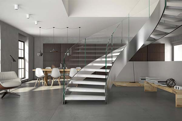 Bespoke Staircase Helical 1