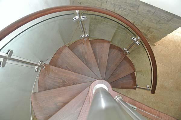 Spiral Stair Elegance Glazed