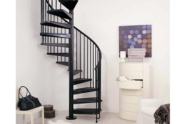 Civik Spiral Stair Black