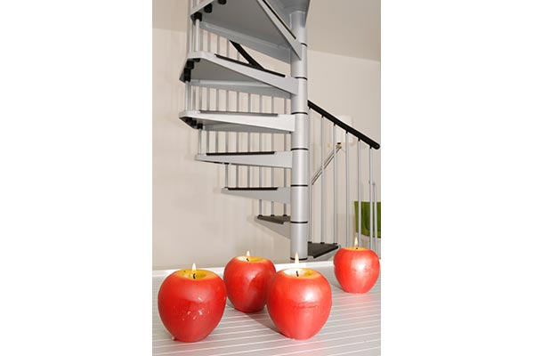 Civik Spiral Stair Grey