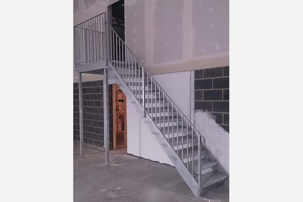 Fabricated Staircase Galvanised