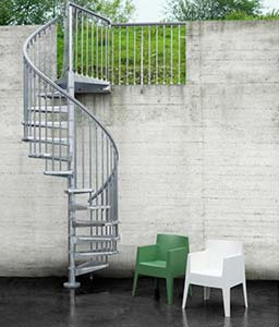 Standard Px Outdoor Spiral Staircase